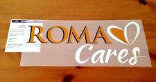 2013-15 come ROMA ROMA CARES UFFICIALE STILSCREEN HOME FOOTBALL SHIRT logo dello sponsor