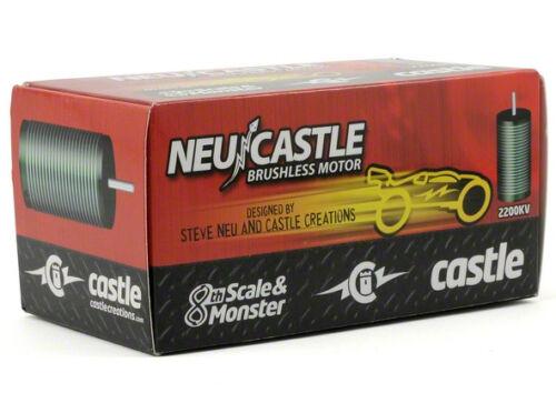 Free shipping Castle1515 Creations 2200kV Brushless Motor Traxxas E-Revo E-Maxx