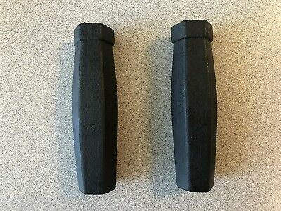 "BICYCLE BIKE SHIFTIER HANDLEBAR 7//8/"" GRIPS 125MM//80MM BLACK TRIANGLE M.T.B NEW"