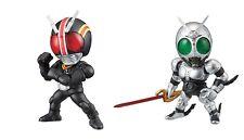 BANDAI Kamen Masked Rider Advance 05 Gashapon 2 Figure BLACK SHADOW MOON