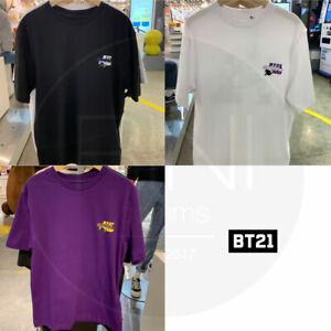 BTS-BT21-Official-Authentic-Goods-Space-Squad-Short-Sleeve-T-Shirts-3Color
