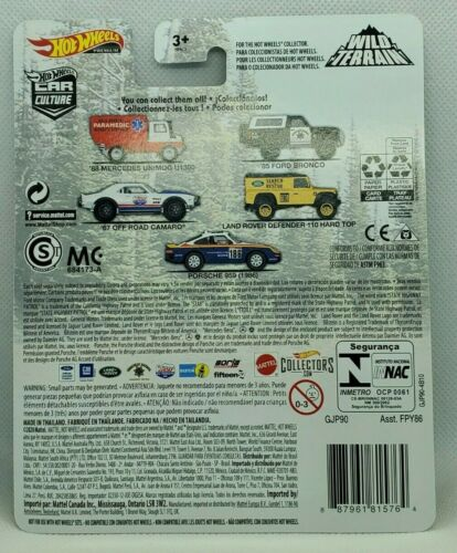 2020 Hot Wheels Wild Terrrain Land Rover Defender Search  Rescue Real Riders