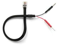 Mirror Wire Power Cord for Valentine V1 Radar Detectors w/ Inline Fuse RJ11