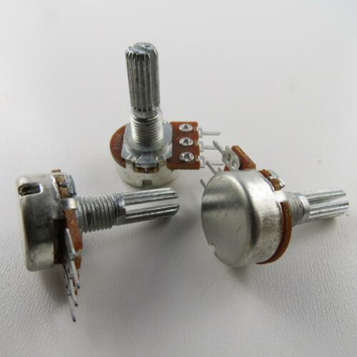 2 x potenziometro orrecguitarparts girevole 1-Turn lineare 500k 6mm resistenza di rotazione resistenza Ohm