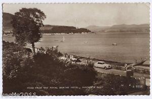 Hunter-039-s-Quay-Dunoon-Argyll-Scotland-Real-Photo-Postcard-1962
