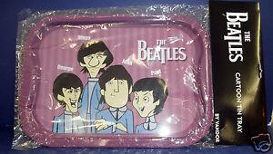 Vandor-Animated-Beatles-TV-Tray-New-in-Package-64017