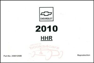 HHR-2010-CHEVROLET-OWNERS-MANUAL-OWNER-039-S-BOOK