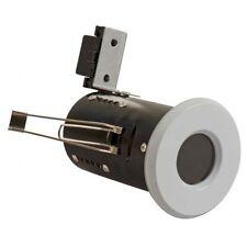 White Fire Rated Bathroom / Shower Ceiling Down Light IP65 GU10 FLF17 X 1