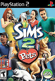 Sims-2-Pets-Sony-PlayStation-2-2006-Complete-Fast-Shipping-PS2