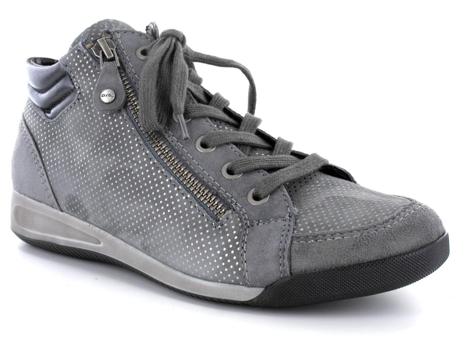 44410 Stiefel 12 Grau Weite 25 Stiefely Chaussures Ara Tennis Rom de xerodCB