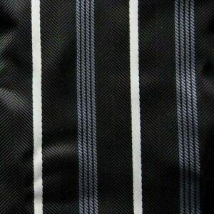 6cda719e0d6a Bow Tie Men Pre Tied Black Striped Bowtie Pocket Square Cufflinks   eBay