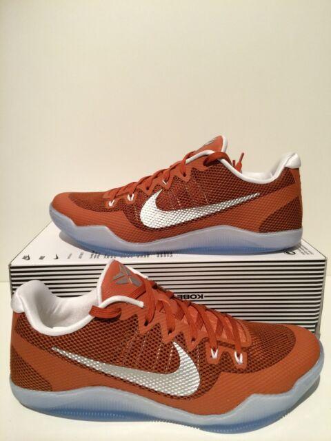 a633455ded83 New Nike Kobe XI 11 TB Promo Texas Longhorns Desert Orange Size 13 856485  882