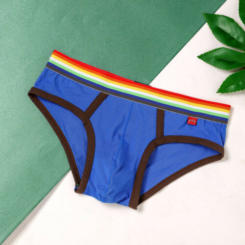 Mens Briefs Underpants Bulge Pouch Briefs Stylish Low Waist Underpants
