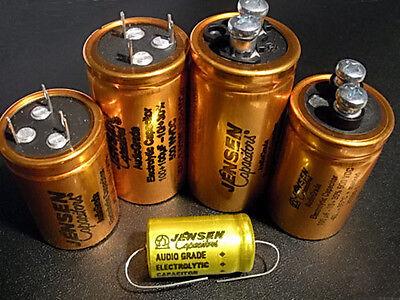For 1pcs Jensen 47+47UF 500V electrolytic capacitor 35x50mm
