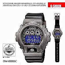 Casio-G-Shock-Sports-Digital-Crazy-Colors-Silver-x-Black-Watch-DW6900SC-8DR