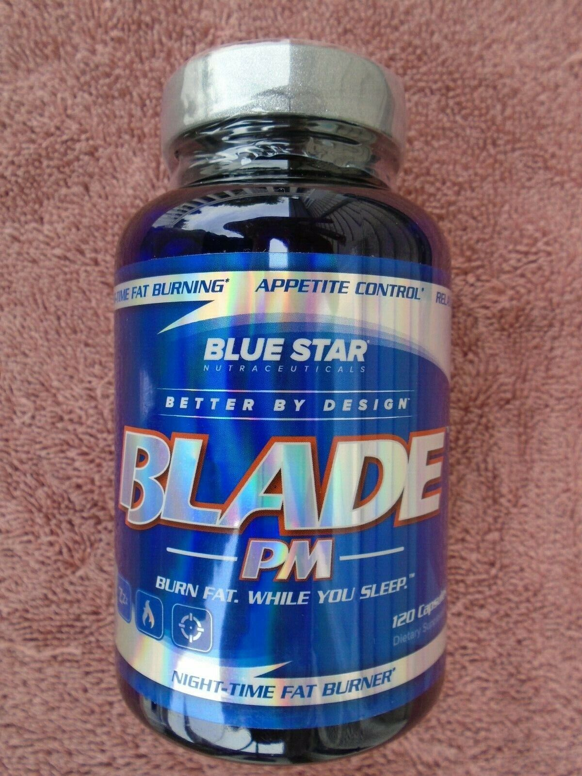 """""""BLADE PM"""" Lose Weight While You Sleep! 120 Caps. Brand NEW & Factory Sealed!!!!"""