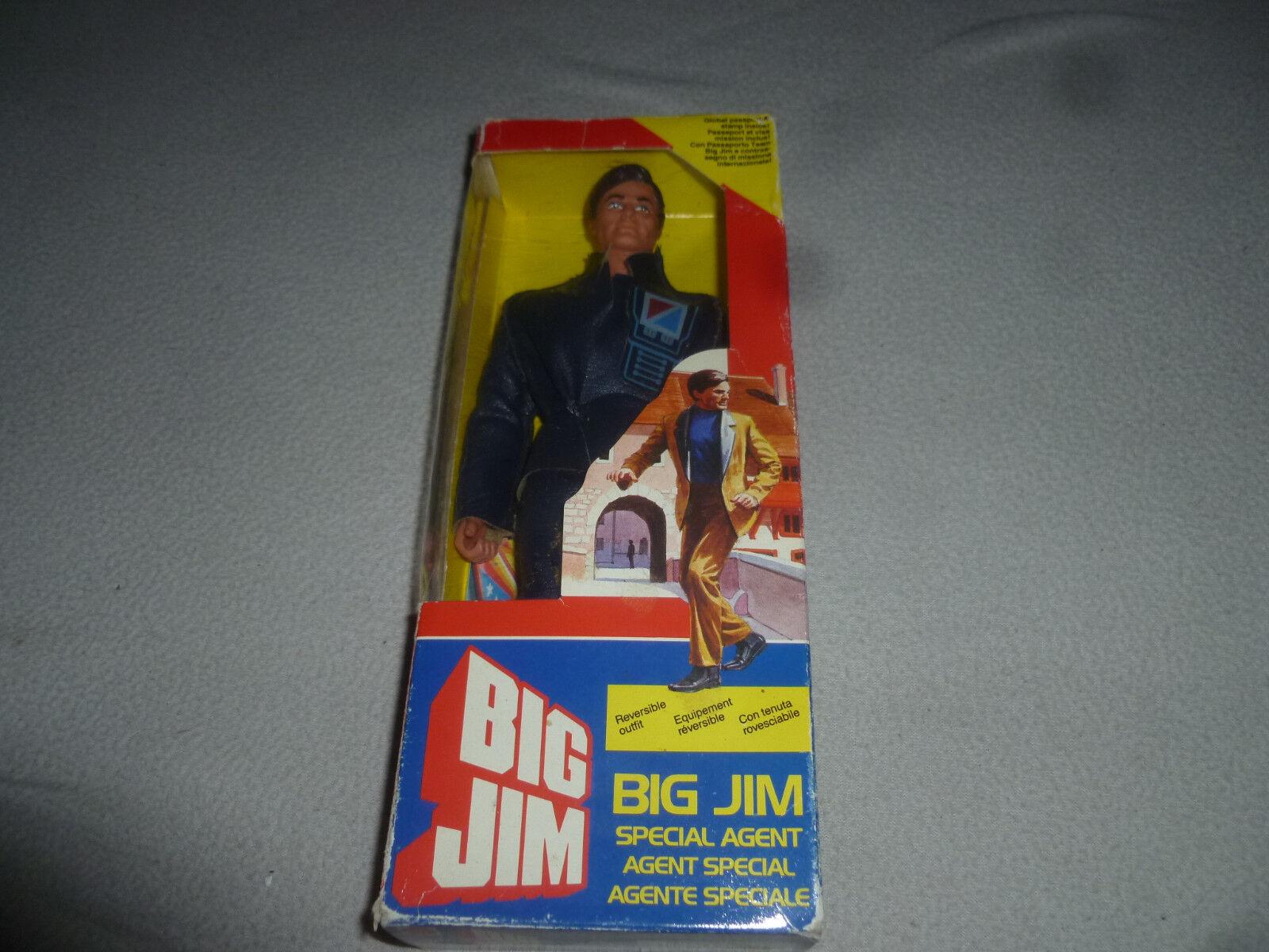 NEW IN BOX BIG JIM SPECIAL AGENT MATTEL VINTAGE ACTION FIGURE 9289 NIB 1984 RARE