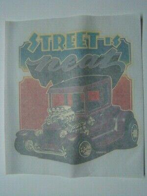 "1974 Roach "" Street Is Neat "" Hot Rod Dragster Su Ferro Trasferimento"
