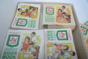Lot Vintage S/&H Green Stamps Books Loose Stamps Top Value Stamps w Book