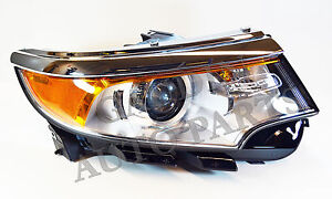 Image Is Loading Ford Oem   Edge Headlight Assembly Btza