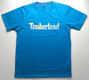 Men-039-s-Short-Sleeve-Timberland-Linear-Logo-T-Shirt