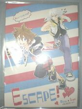 Free shipping Doujinshi KINGDOM HEARTS ESCAPE! Riku x Sora