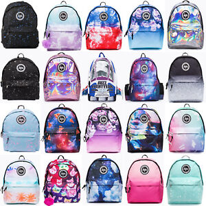 39cc7da0e2 Image is loading Hype-Backpack-Bag-Rucksack-School-Bags-45-Designs-