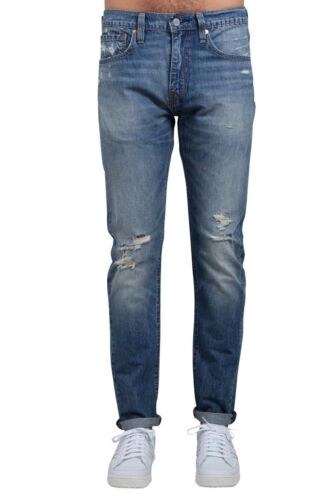 512 slim taper fit jeans with rips LEVI/'S Men