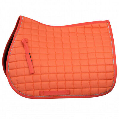 B Vertigo Velour Lux Coolmax Quick Dry Lining All Purpose Saddle Pad Horze