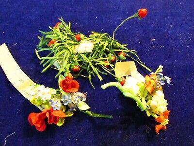 Candido Vintage Modisteria Flower Collection Rosso Blu Bianco 1/4-1 Bambola Misura Durevole In Uso