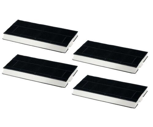 SUPER set risparmio 4 Pezzi carbone Attivo Filtro Per Neff z5144x1 z5144x5 filtri a carbone