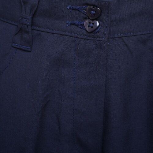 Pantaloni bambina scuola nero grigio blu scuro gamba dritta vestibilità più uniforme