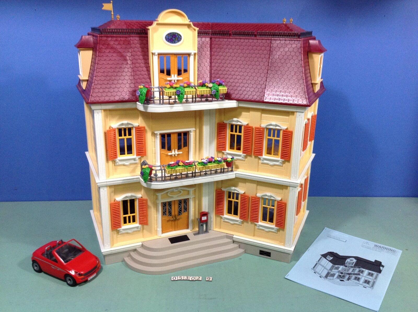 (O5302.9) playmobil Maison style 1900 ref 5302 5300 5305
