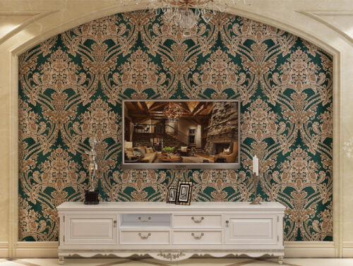 Baroque Style French Palace Wallpaper European Style Luxury Wallpaper for Sale