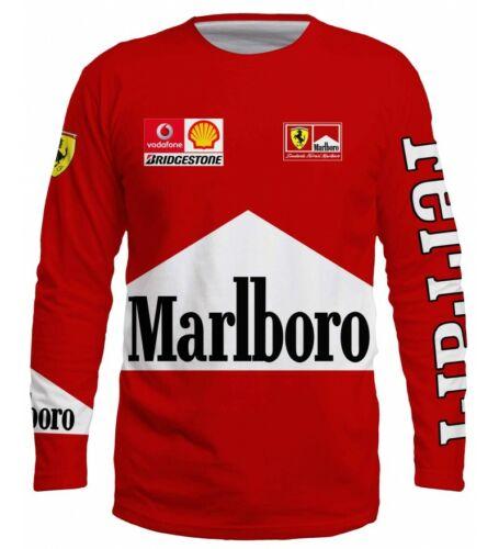 T Shirt Scuderia Ferrari Formula 1 Bolid New Tee Logo  Car Motorsport Racing Red