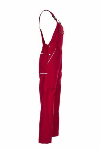 Planam Canvas 320 Herren Latzhose rot Modell 2137