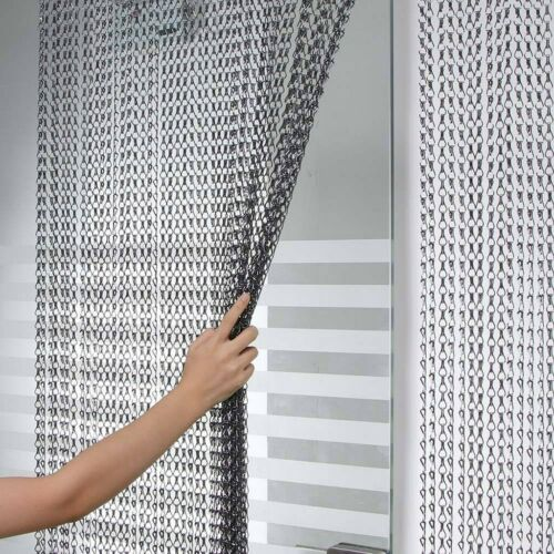 Aluminum Chain Curtain Door Curtain Metal Anti-Mosquito Chain Fly Insect Screen*