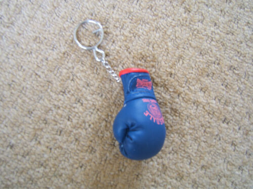 LONSDALE SPORTS BLUE AND RED BOXING GLOVE KEYRING