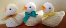 EASY / SIMPLE / BEGINNERS EASTER CHICK / EGG COSY LAMINATED KNITTING PATTERN