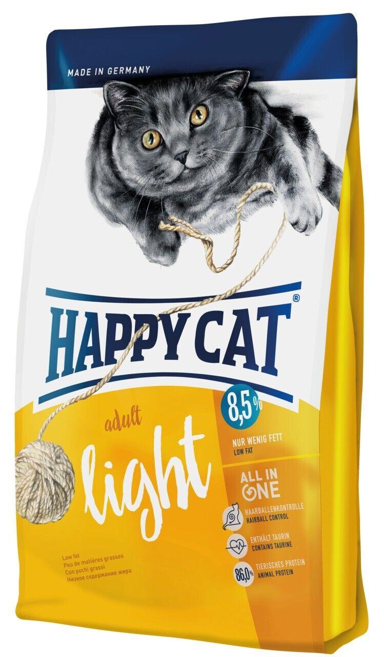 Happy Cat SUPREME ADULT LIGHT 10kg gatti mangime secco per gatti obesi