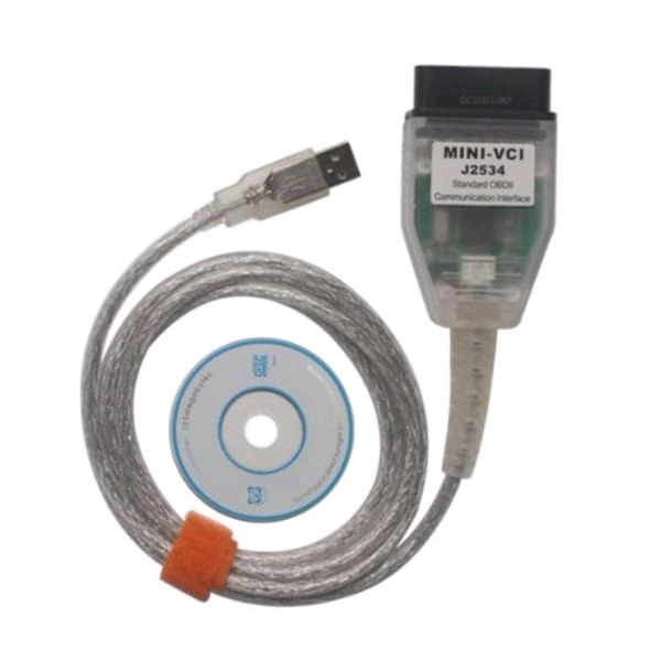 Toyota mini vci diagnostic cable
