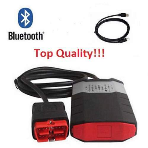 2015R3 Car Truck OBD Diagnostic Scanner Kits Bluetooth CDP USB For DELPHI  DS150E