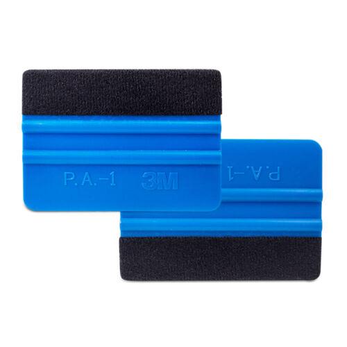Folienrakel Filzrakel 2x 3M Rakel PA-1-B Farbe Blau Weich inkl Filzkante