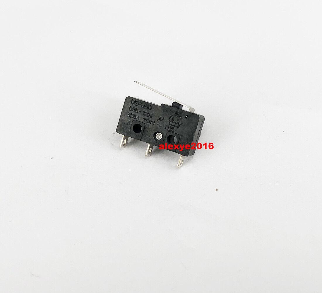 DEFOND DMB-1206/DMB-1210 Micro Switch 3 pines con prensa de palanca de