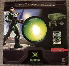 Halo Combat Evolved Limited Edition Green Original Xbox Console
