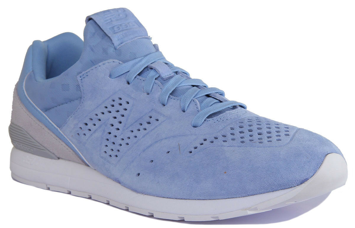 New Balance MRL996DS Revlite Classic Men Suede Leather Sky bluee Trainers
