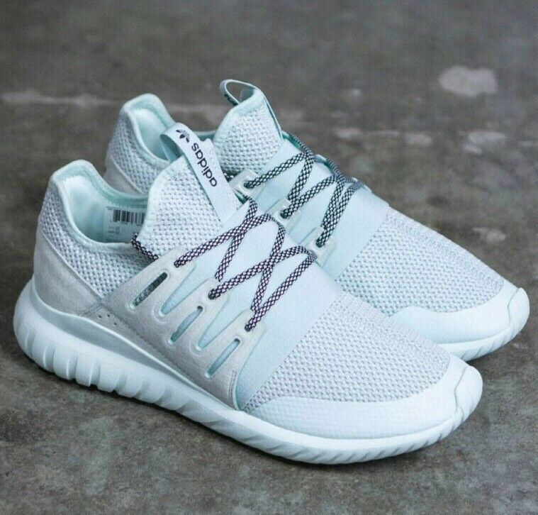MEN'S ADIDAS ORIGINALS TUBULAR RADIAL S76717 men's running shoes ICE MINT