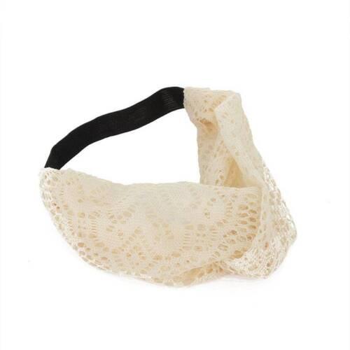 Turban-Frauen-elastische Spitze-breites Stirnband Headwrap für Frühlings-Sommer