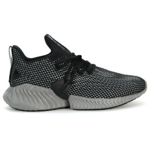 Adidas Men's Alphabounce Instinct Core Black/Cloud White Shoes BC0626 NEW