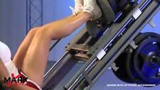 LEG PRESS MACHINE LEG PRESS HACK SQUAT TRAINER SQUAT MACHINE PLATE LOADED XMARK